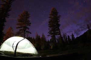 Nighttime possibilities: enjoying the great outdoors! Photo credit: David Fulmer