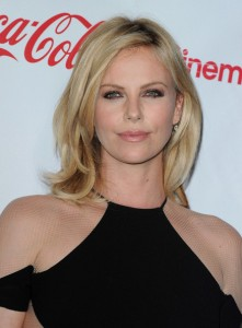 Charlize Theron at the 2012 CinemaCon Big Screen Achivement Awards Photo courtesy of DWNews